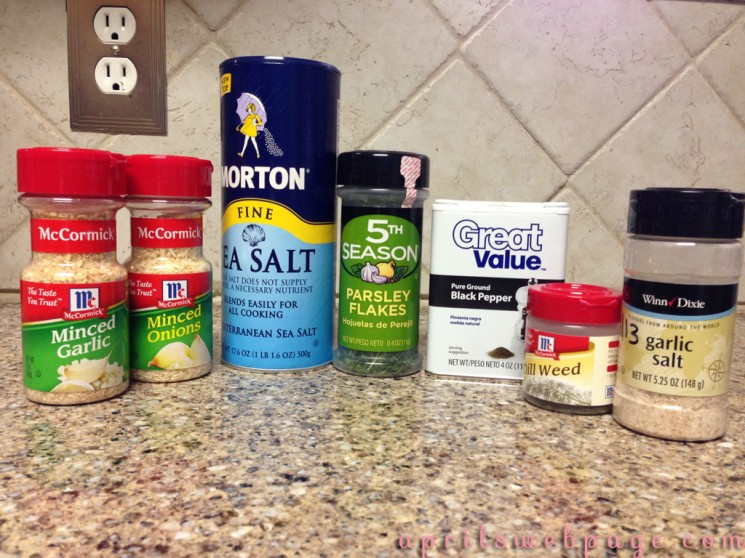 ranch dressing mix ingredients