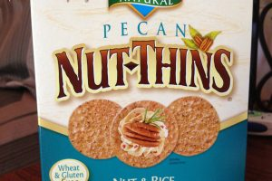 Blue Diamond Pecan Nut-Thins