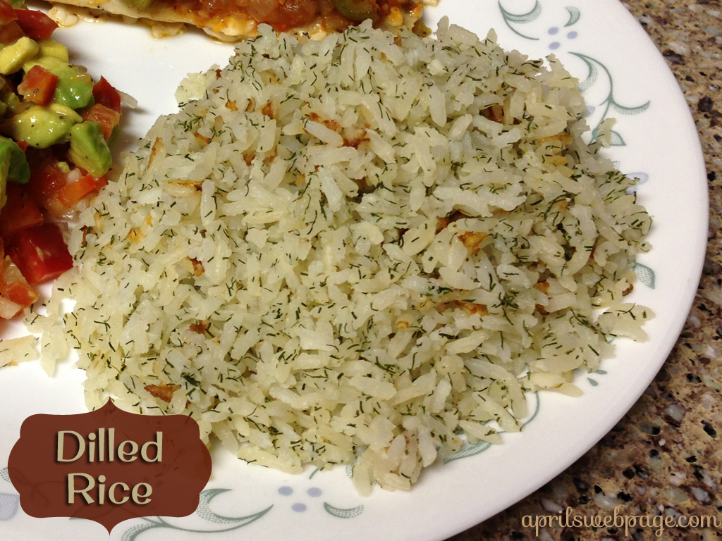 Dilled Rice
