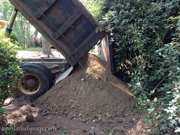 7 cubic yards of top soil