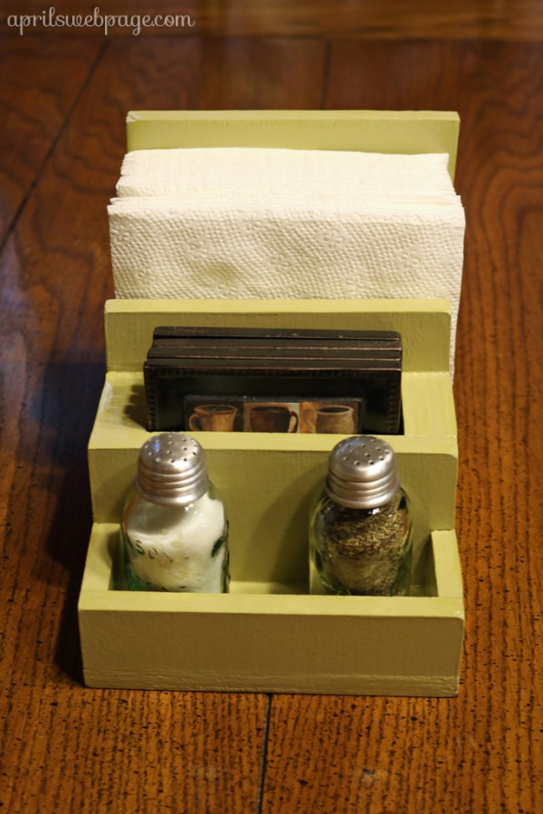 DIY napkin holder