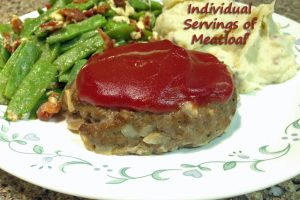 invidual serving-size meatloaf