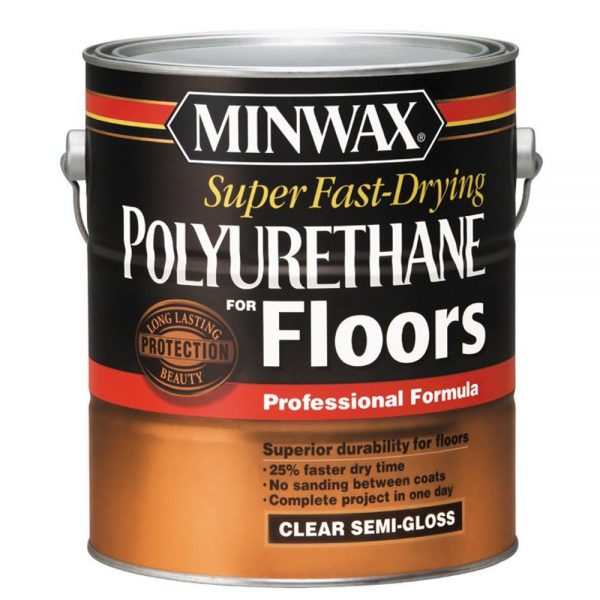 Minwax Super Fast Drying Polyurethan for Floors