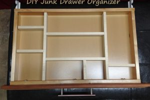 DIY Junk Drawer Organizer