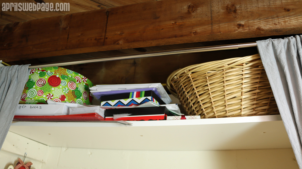 craft storage shelf
