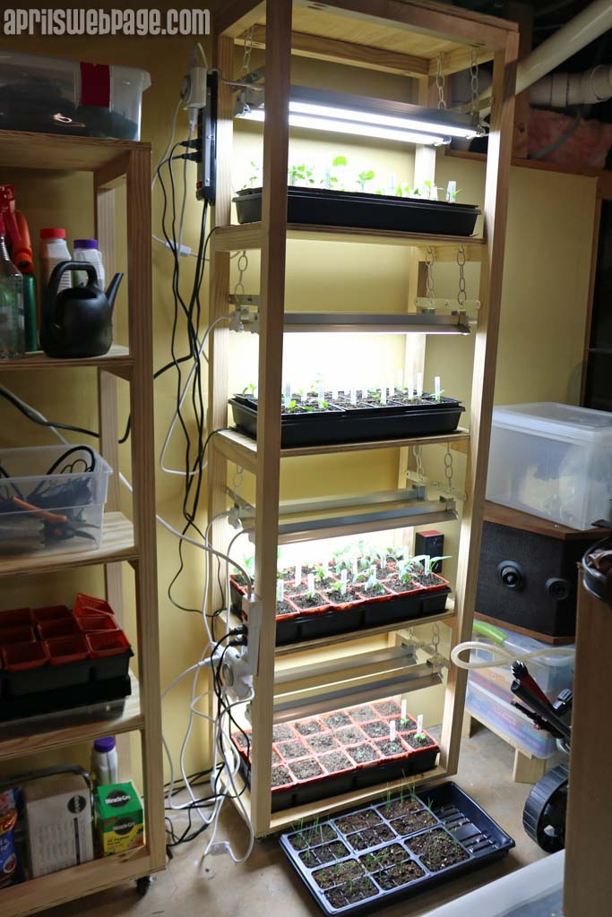DIY Grow Light Stand