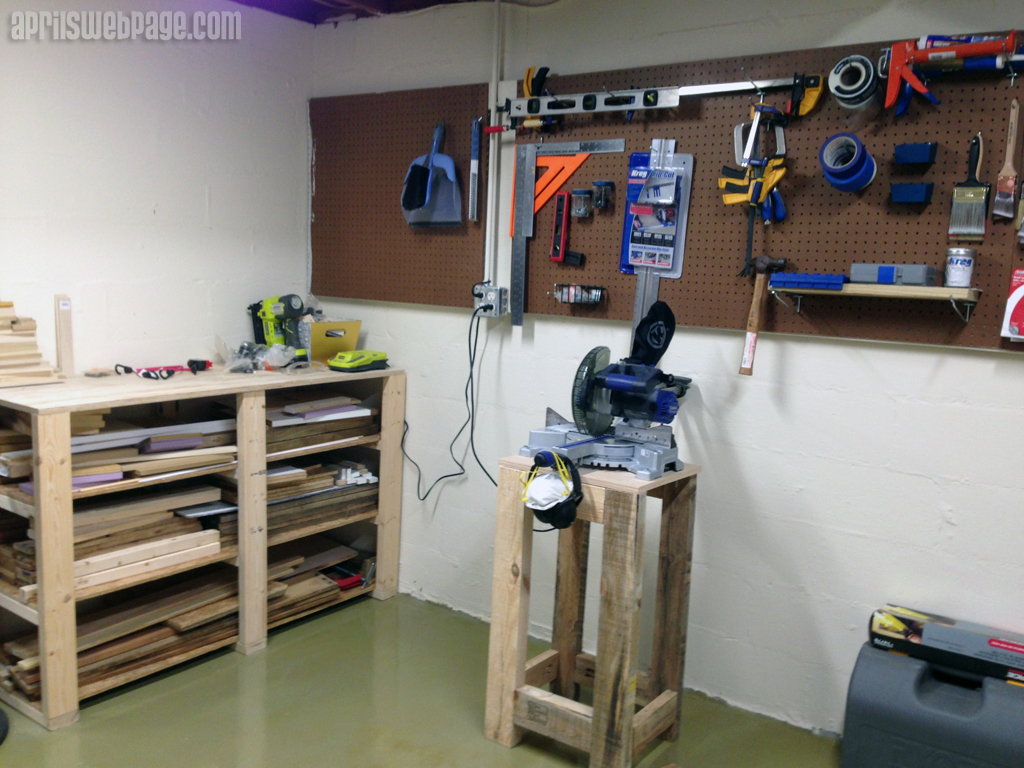 miter saw stand - Before
