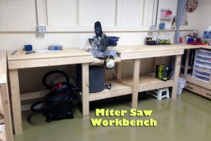 DIY Miter Saw Workbench