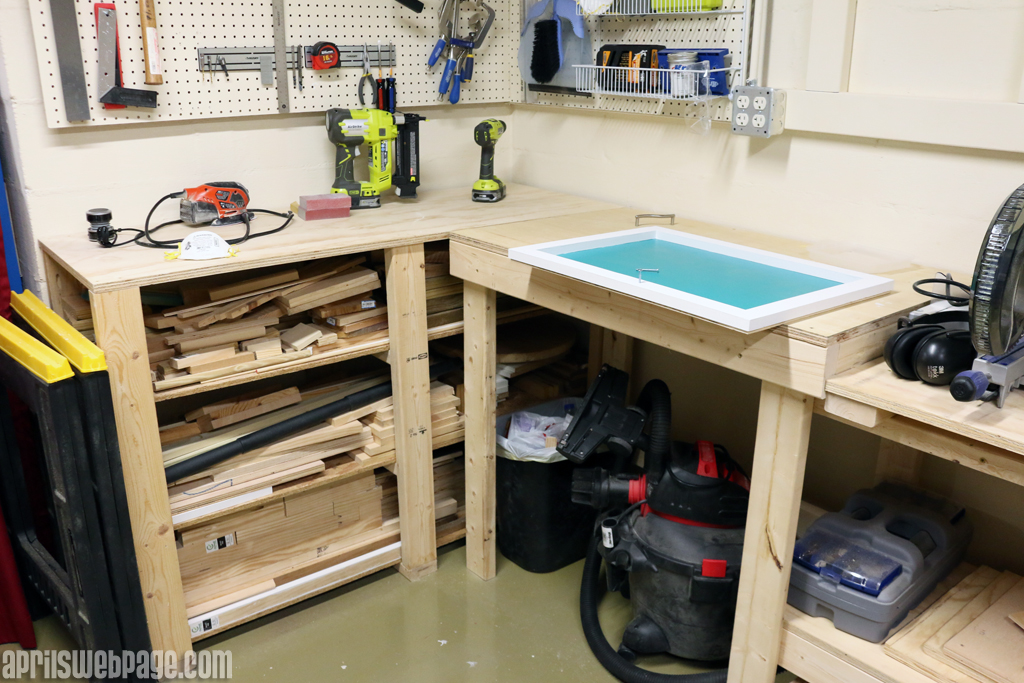 miter saw workbench